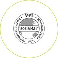 VFI sozial fair Sozialstandard Zertifizierung Über uns