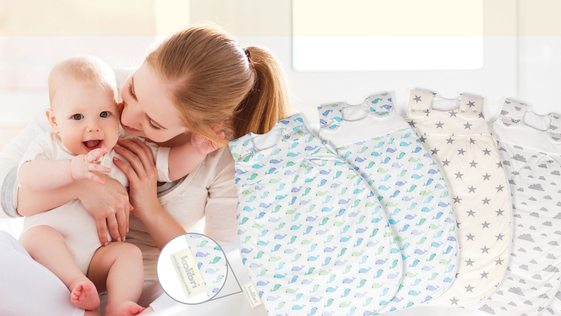 Individuelle Babyartikel Babyschlafsäcke Klinikzubehör