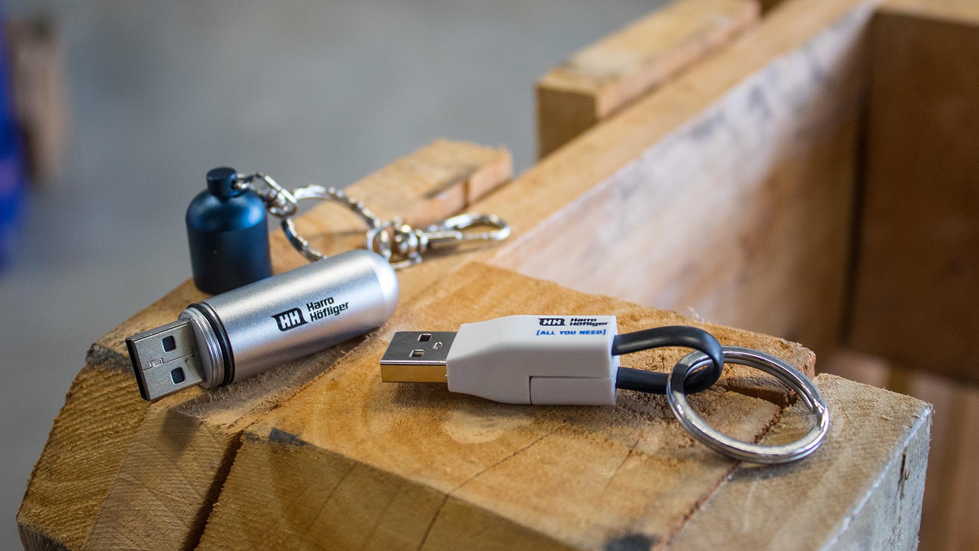 Harro Höfliger Kollektion Werbeartikel USB Stick Full Service